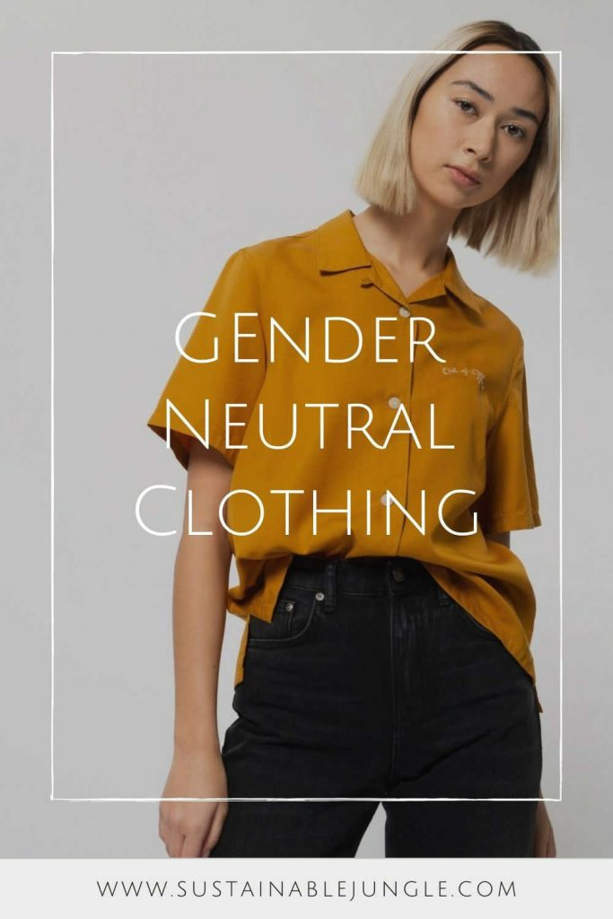 Binary fashion is coming to an end with a new breed of brands creating gender neutral clothing for more inclusive fluid fashion industry Image by Nudie Jeans #genderneutralclothing #genderneutrallclothingbrands #sustainablejungle
