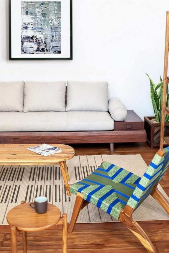 Let us share a few eco friendly sofas with you that will have you feeling better about that GoT binge Image by Made Trade #ecofriendlysofas #ecofriendlycouches #sustainablesofas #sustainablecouches #sustainablejungle