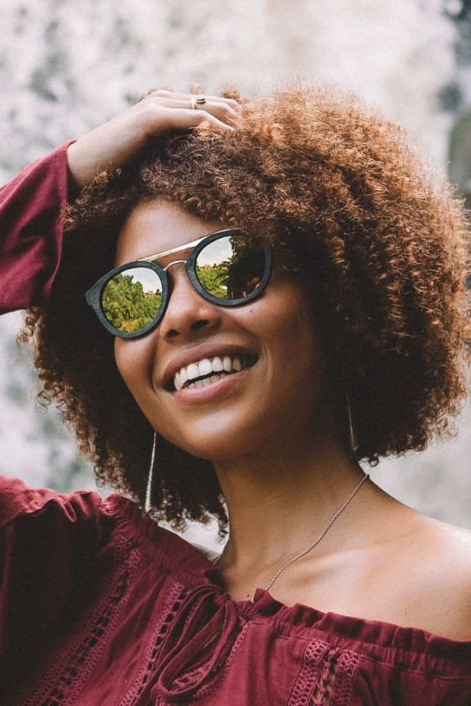 My dog chewed my sunglasses to bits so I have a legitimate reason to buy a new pair of eco friendly sunglasses and, at the same time, shed some light on sustainable sunglasses brands Image by Proof #ecofriendlysunglasses #sustainablesunglasses #sustainablejungle