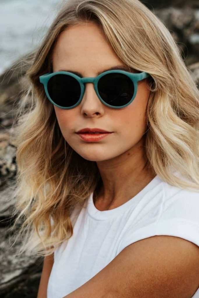 My dog chewed my sunglasses to bits so I have a legitimate reason to buy a new pair of eco friendly sunglasses and, at the same time, shed some light on sustainable sunglasses brands. Image by Waterhaul #ecofriendlysunglasses #sustainablesunglasses #sustainablejungle