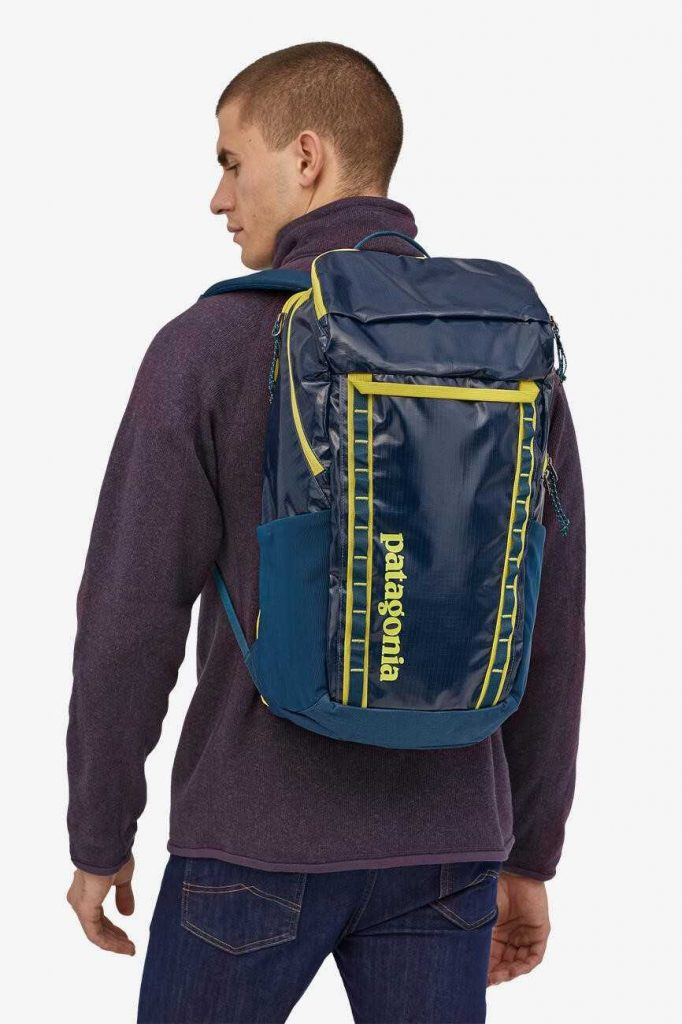 Eco friendly and sustainable backpacks can help us pack up our everyday essentials and leave our eco woes at home Image by Patagonia #sustainablebackpacks #ecofriendlybackpacks #sustainablejungle