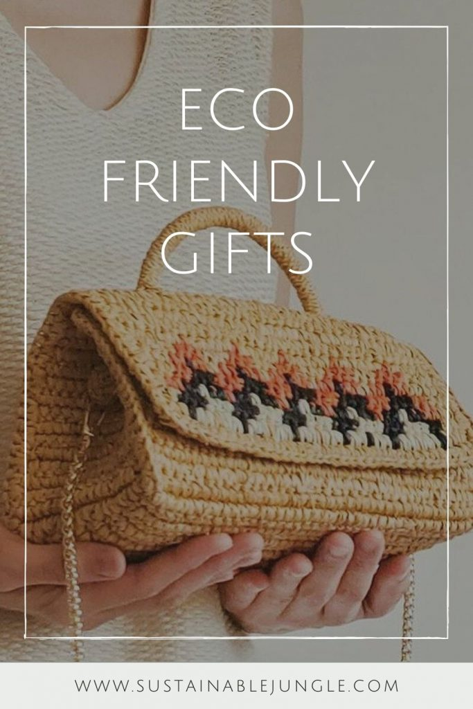 "Whatever the season, there's always the opportunity to do a little sustainable giving! So here are the best eco friendly gifts for him and her that say ""I care about you (and our planet)"" Image by Ocelot Market #ecofriendlygifts #sustainablegifts #sustainablejungle"