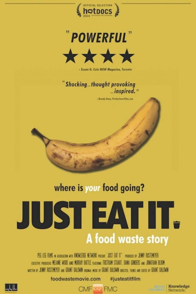 For that extended staycation you never planned on, here's our list of the best environmental films. Image by Just Eat It #environmentalfilms #bestenvironmentalfilms #sustainablejungle