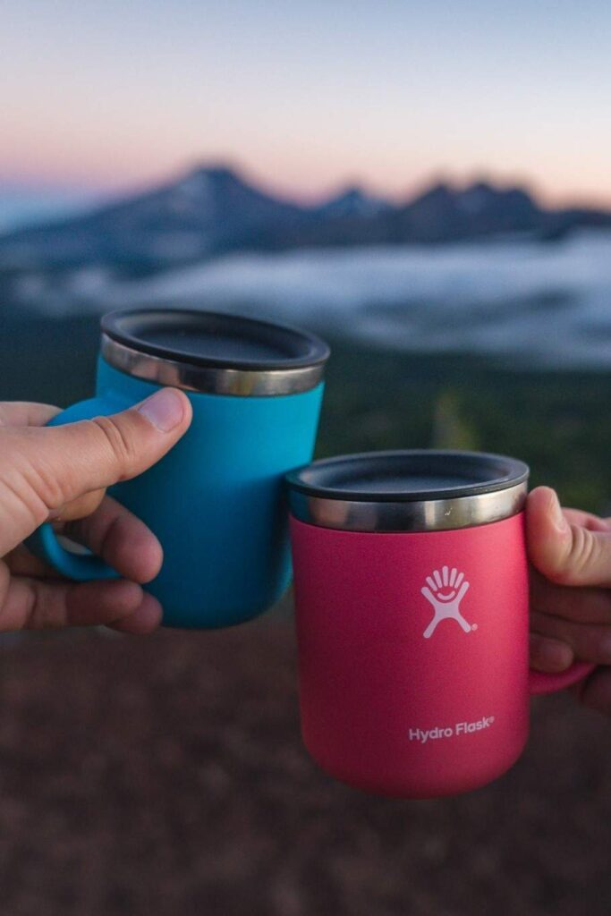You know what they say: waste not, want not. For zero waste gifts, that takes on a whole new meaning! Image by Hydro Flask #zerowastegifts #bestzerowastegifts #zerowastegiftideas #sustainablejungle