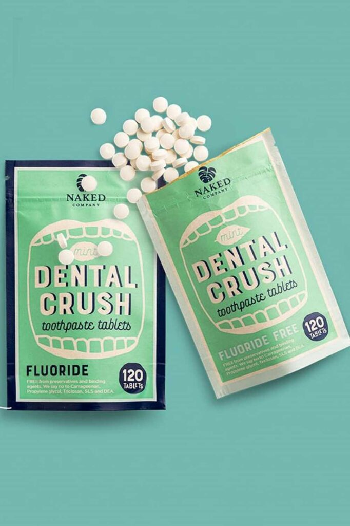 Toothpaste is probably the most regularly used body care product around which is why it was one of the first products we scrutinized for sustainable, cruelty free toothpaste alternatives... Image by Naked Company #crueltyfreetoothpaste #vegantoothpaste #sustainablejungle