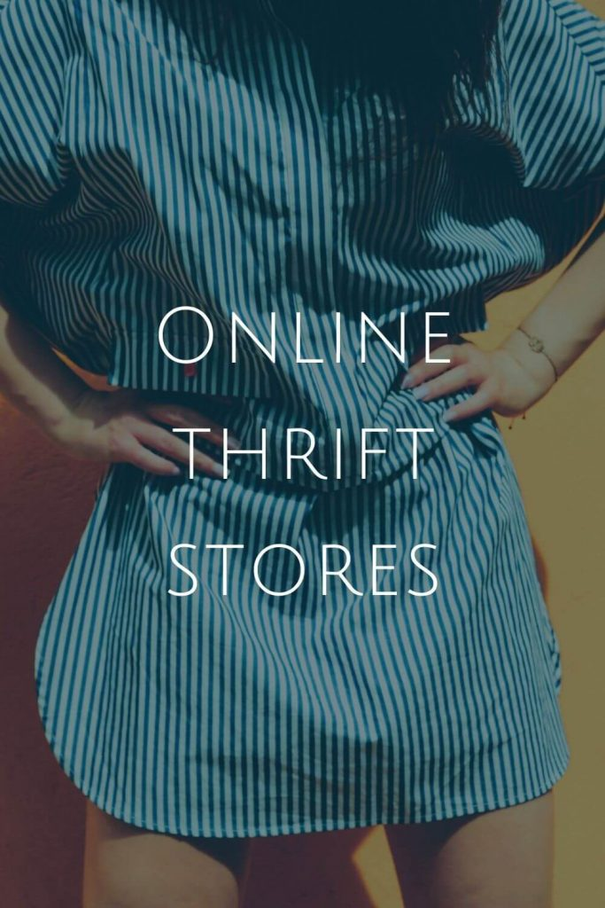 What are teh best online thrift stores? #sustainablejungle #online thrift stores