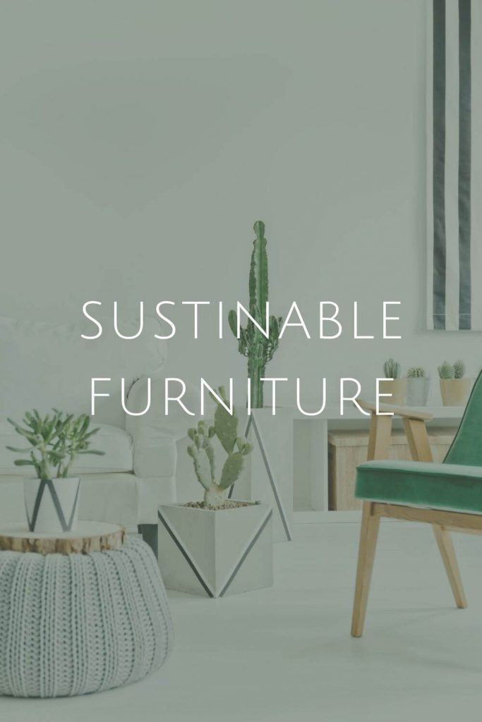 Sustainable Furniture at Sustainable Jungle #zerowaste #sustainablejungle