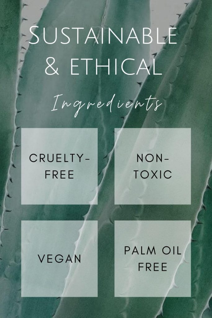 We think it's important to understand what makes a brand or product truly sustainable and ethical. But what defines sustainable and ethical beauty ingredients? #sustainablebeauty #ethicalbeauty
