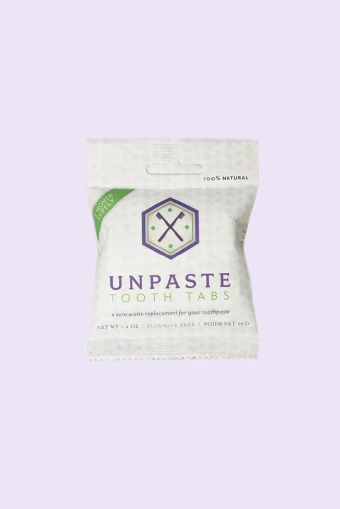 Toothpaste is probably the most regularly used body care product around which is why it was one of the first products we scrutinized for sustainable, cruelty free toothpaste alternatives... Image by Unpaste #crueltyfreetoothpaste #vegantoothpaste #sustainablejungle