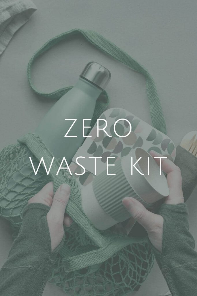 Zero Waste Kit at Sustainable Jungle #zerowaste #sustainablejungle