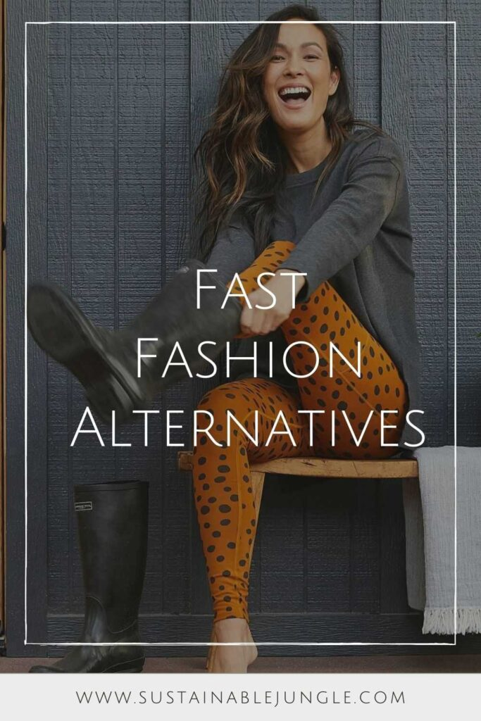 There's no such thing as ethical fast fashion. If we're not paying a fair amount for a garment, then someone somewhere is. Fortunately, you can still look great with these fast fashion alternatives.  Image by Pact #fastfashionalternatives #alternativestofastfashion #sustainablejungle