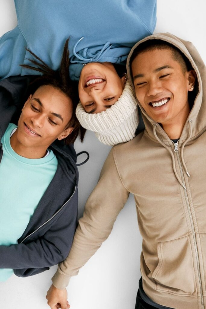 Most hoodies are synthetic based, meaning they'll be around for hundreds of years. So in the spirit of a sustainable fashion industry (and planet), opt for an ethical and organic hoodie that puts the eco in eco-conscious clothing.  Image by Colorful Standard #organichoodie #ethicalhoodie #sustainablehoodie #sustainablejungle