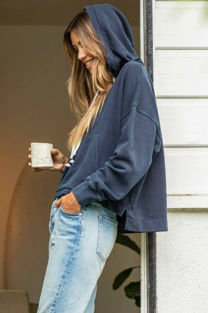 Most hoodies are synthetic based, meaning they'll be around for hundreds of years. So in the spirit of a sustainable fashion industry (and planet), opt for an ethical and organic hoodie that puts the eco in eco-conscious clothing.  Image by Outerknown #organichoodie #ethicalhoodie #sustainablehoodie #sustainablejungle