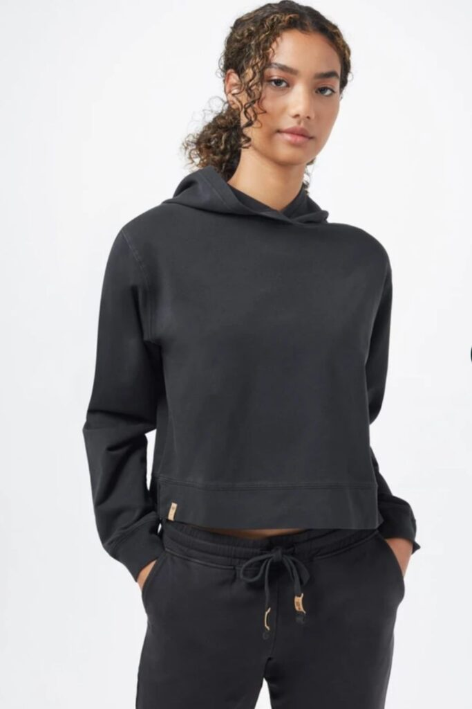 Most hoodies are synthetic based, meaning they'll be around for hundreds of years. So in the spirit of a sustainable fashion industry (and planet), opt for an ethical and organic hoodie that puts the eco in eco-conscious clothing.  Image by Tentree #organichoodie #ethicalhoodie #sustainablehoodie #sustainablejungle