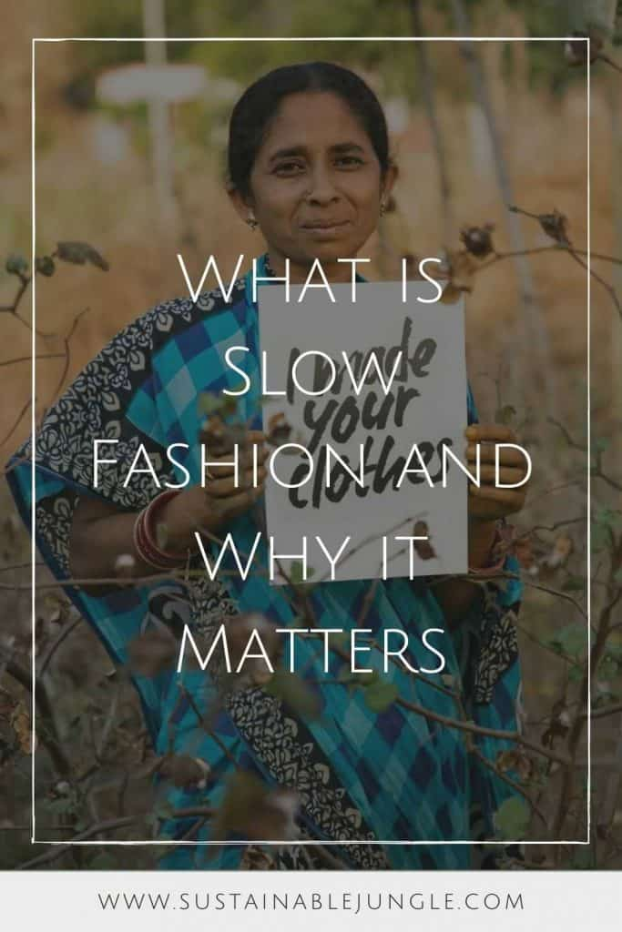 Remember the story about the tortoise and the hare? If you reach back to the depths of your childhood memory, you might remember the main takeaway being: faster isn't necessarily better. And the same can be said for slow fashion. Image by Synergy Organic #whatisslowfashion #whyslowfashionmatters #sustainablejungle