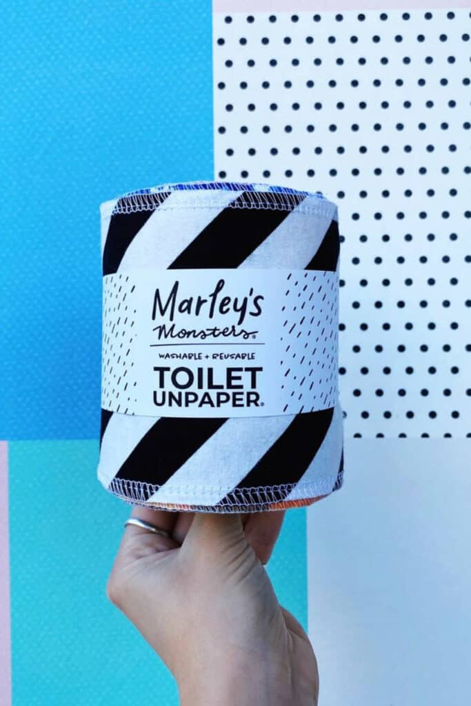 Let's start giving a s*** about our planet, by starting with the best eco friendly toilet paper.  Image by Marley's Monsters #ecofriendlytoiletpaper #sustainabletoiletpaper #sustainablejungle