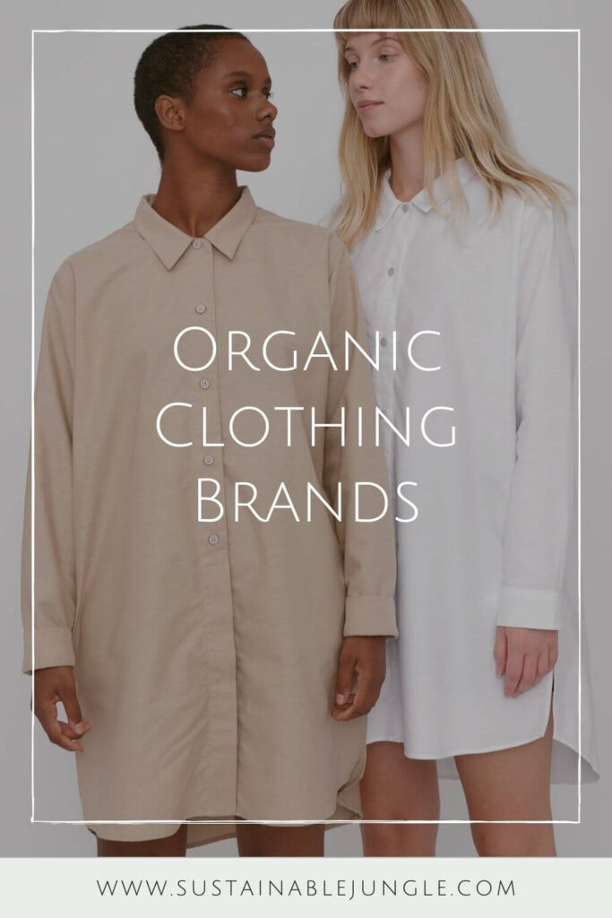 Wearing clothes made with natural materials is great and all, but wearing organic clothing made with natural materials is even better Image by Organic Basics #organicclothing #sustainablejungle