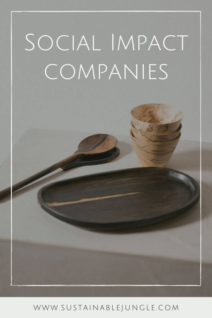 For this list, we've gone back through the inspiring annals of The Sustainable Jungle Podcast and rounded up some of our favorite guests… who also happen to be the change-makers behind these growing social impact companies... Image by Itza Wood #socialimpactcompanies #sustainablejungle