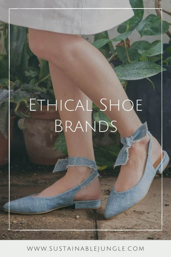 Living sustainably means taking it one step at a time, literally. But in a world where traditional footwear is anything but, you may be wondering, which are the ethical shoe brands? Image by NAE #ethicalshoebrands #sustainableshoebrands #sustainablejungle