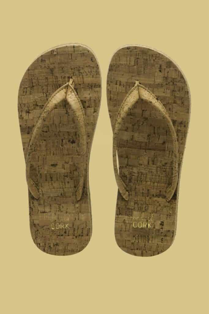 Living sustainably means taking it one step at a time, literally. But in a world where traditional footwear is anything but, you may be wondering, which are the ethical shoe brands? Image by Original Cork Shop #ethicalshoebrands #sustainableshoebrands #sustainablejungle