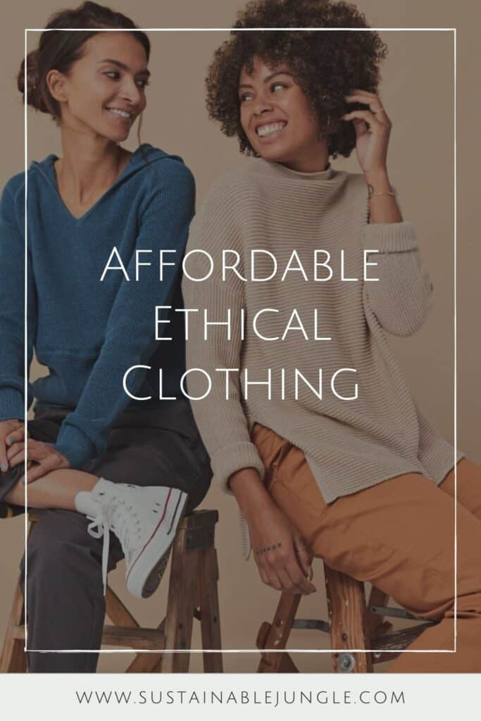 Not only is affordable ethical clothing possible, but it's easier to come by than you think. Image by Pact #affordableethicalclothing #sustainablejungle