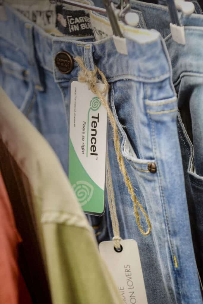 What is rayon fabric and how does it shape up against natural fabrics like hemp, wool, and cashmere? More importantly, is rayon eco friendly really? Image by Lenzing Group #whatisrayonfabric #whatisrayon #israyonfabricecofriendly #israyonfabricsustainable #sustainablejungle