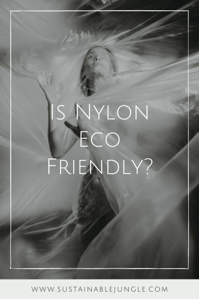 Nylon revolutionized the world of synthetic fibers and modern day essentials. But is nylon eco friendly? Photo by Velizar Ivanov on Unsplash #isnylonecofriendly #isnylonsustainable #sustainablejungle