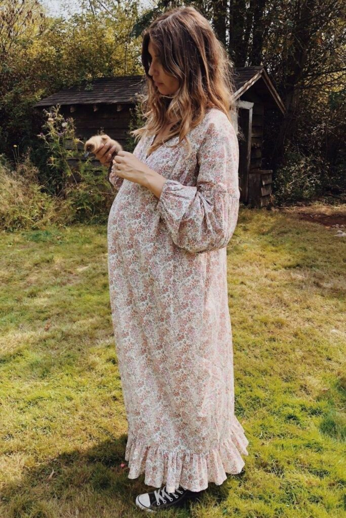 Before your bundle of joy arrives, invest in ethical and organic maternity clothes designed consciously for you and your baby's health. Image by Christy Dawn #organicmaternityclothes #ethicalmaternityclothes #sustainablejungle