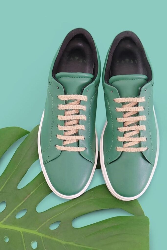The vegan footwear market is growing, so even if you feel like Cinderella looking for the animal-free equivalent of a glass slipper, these vegan shoe brands can help. Image by Yatay #veganshoes #veganshoebrands #bestveganshoebrands #bestveganshoes #sustainablejungle
