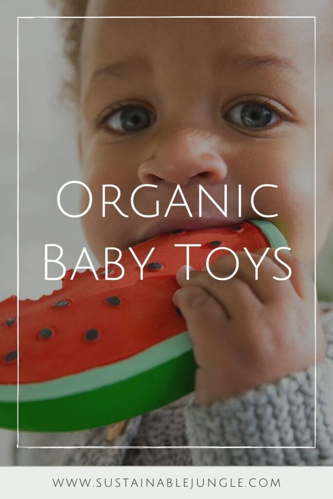 We've explored what it means to raise a zero waste baby, but what about zero fuss babies...you know, a baby playing happily with their new non toxic and organic baby toys. Image by Wild Dill #organicbabytoys #organicbabytoysmadeintheusa #bestorganicbabytoys #nontoxicbabytoys #bestnontoxicbabytoys