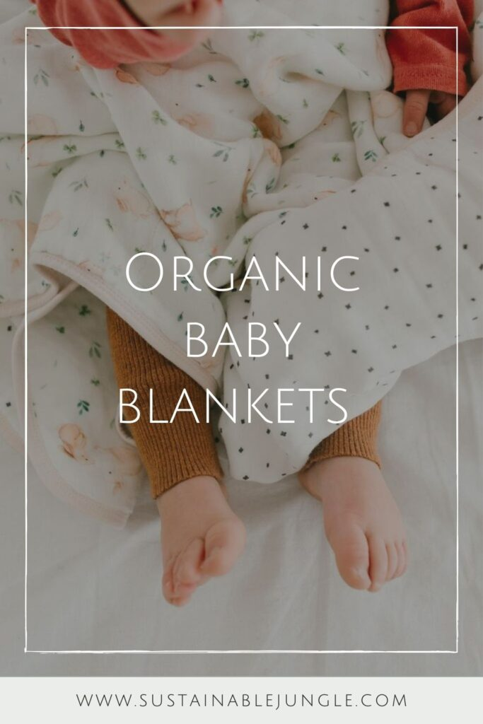 A good night's sleep can't be guaranteed but we can help you find peace of mind in other ways... like organic baby blankets! Image by Loulou Lollipop #organicbabyblankets #sustainablejungle