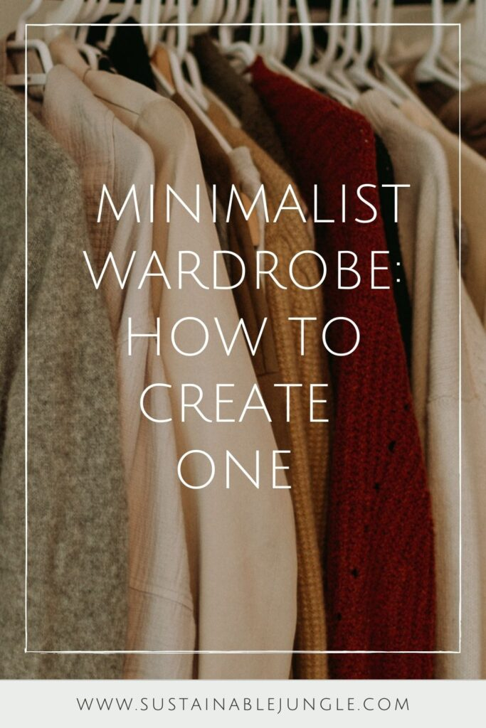 Minimalism in fashion, doesn't fall to the industry; the change starts in your own closet with a minimalist wardrobe. Photo by Priscilla Du Preez on Unsplash #minimalistwardrobe #mensminimalistwardrobe #womensminimalistwardrobe #creatingaminimalistwardrobe #sustainablejungle