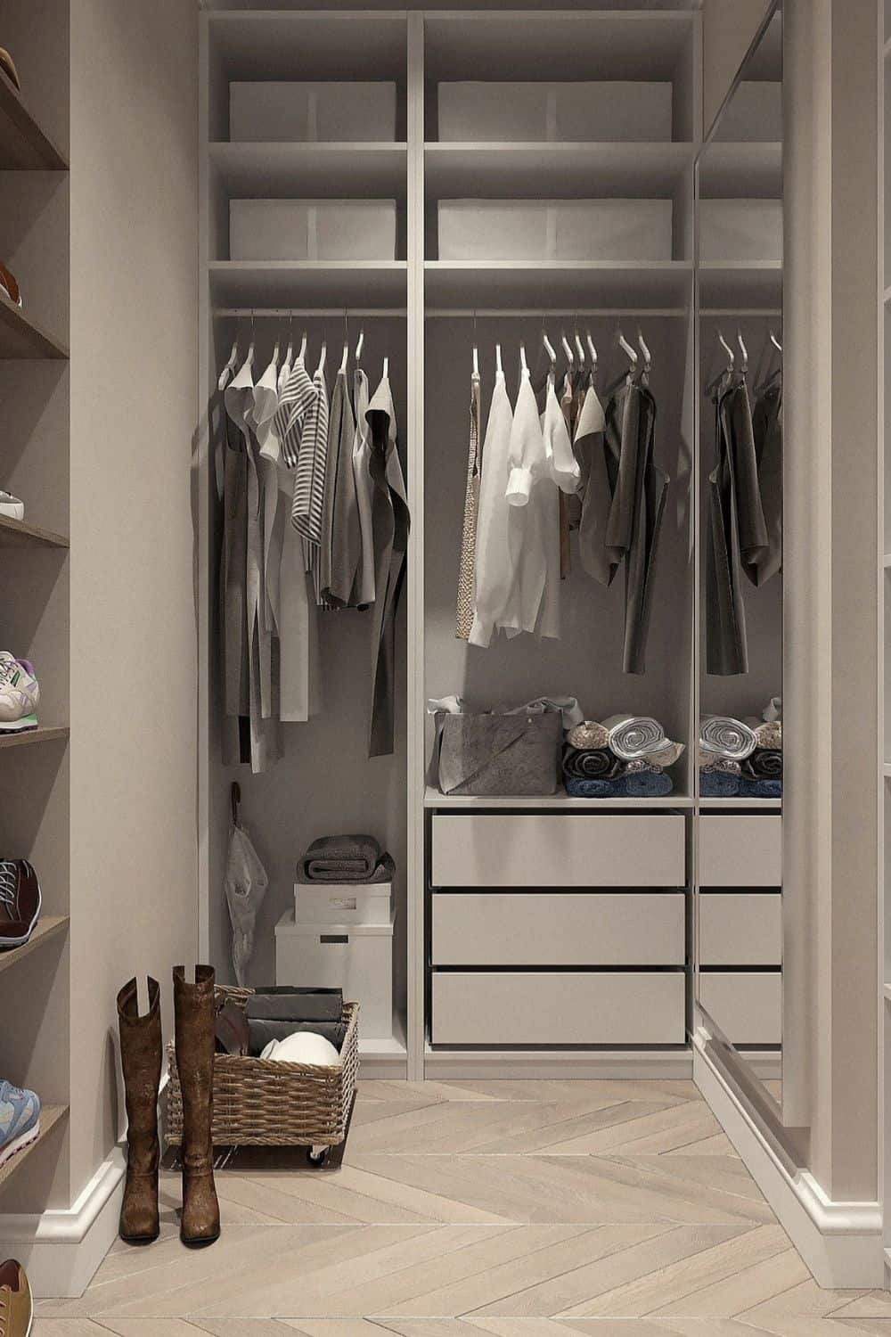 Minimalism in fashion, doesn't fall to the industry; the change starts in your own closet with a minimalist wardrobe. Image by press 👍 and ⭐ from Pixabay #minimalistwardrobe #mensminimalistwardrobe #womensminimalistwardrobe #creatingaminimalistwardrobe #sustainablejungle