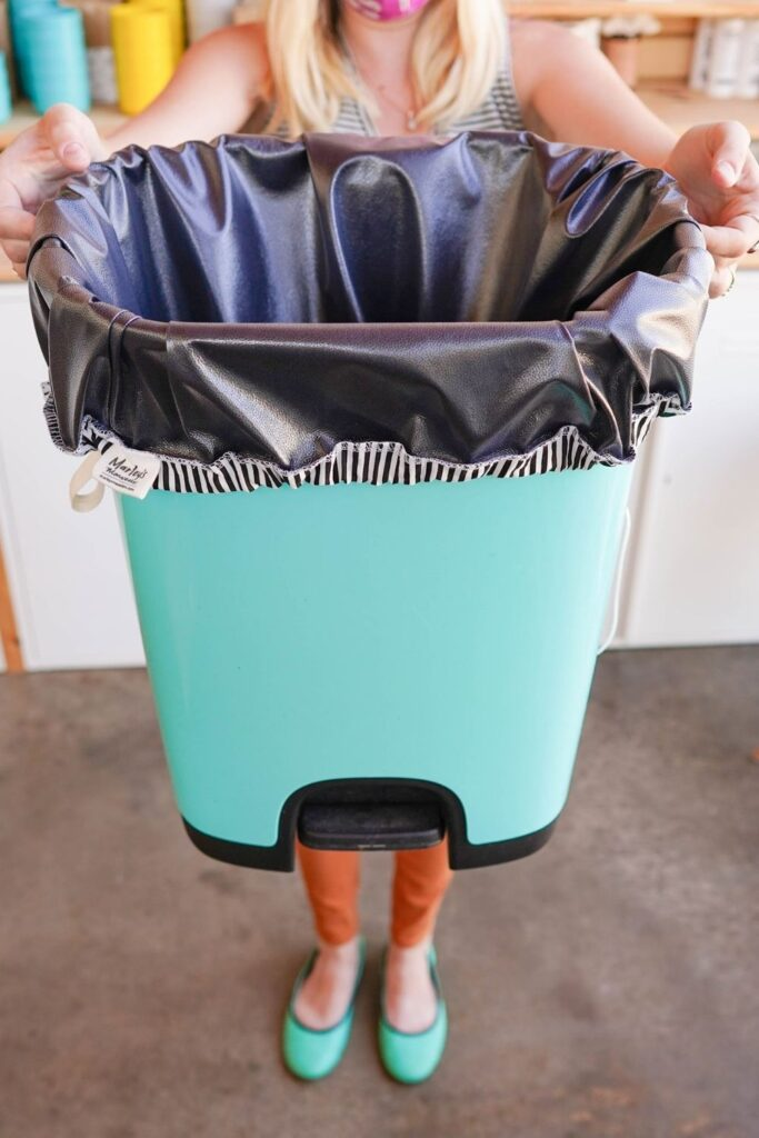 """Recently rubbish-disposal trends have seen an explosion of compostable and biodegradable trash bags. But, just as all """"trash"""" isn't equal, we shouldn't view all """"Earth-friendly"""" trash bags as equal either Image by Marley's Monsters #biodegradeabletrashbags #compostabletrashbags #sustainablejungle"""