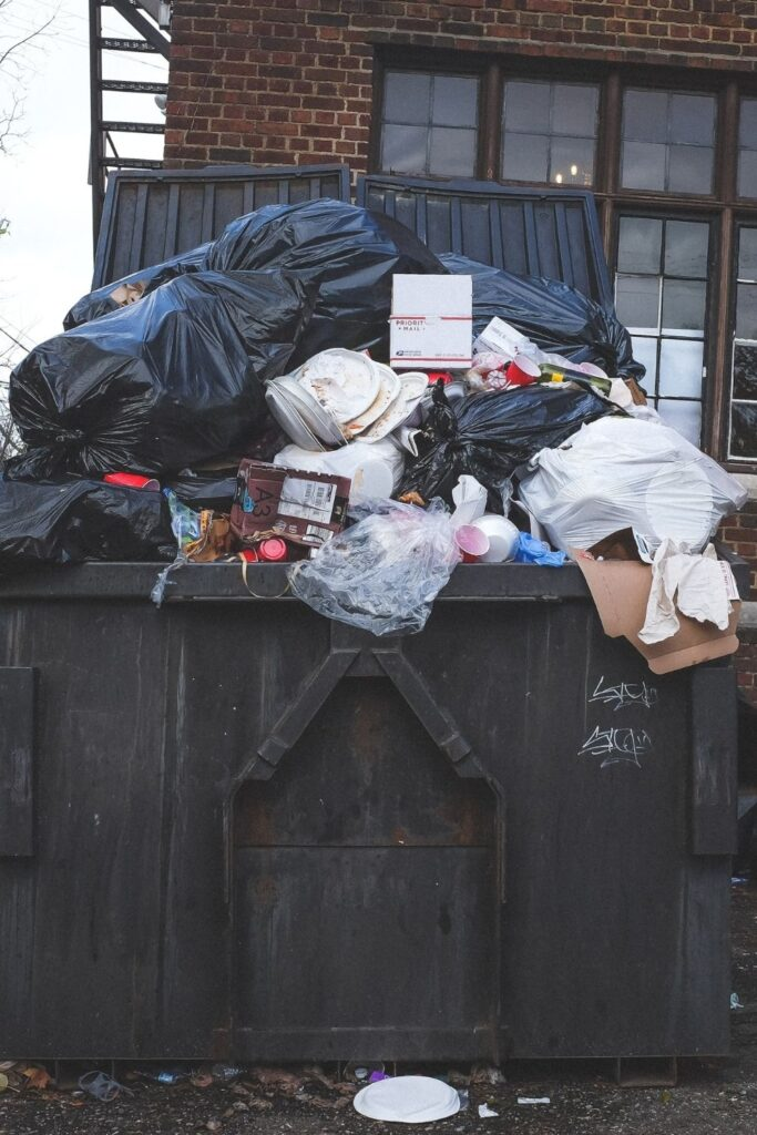 """Recently rubbish-disposal trends have seen an explosion of compostable and biodegradable trash bags. But, just as all """"trash"""" isn't equal, we shouldn't view all """"Earth-friendly"""" trash bags as equal either Photo by NeONBRAND on Unsplash #biodegradeabletrashbags #compostabletrashbags #sustainablejungle"""