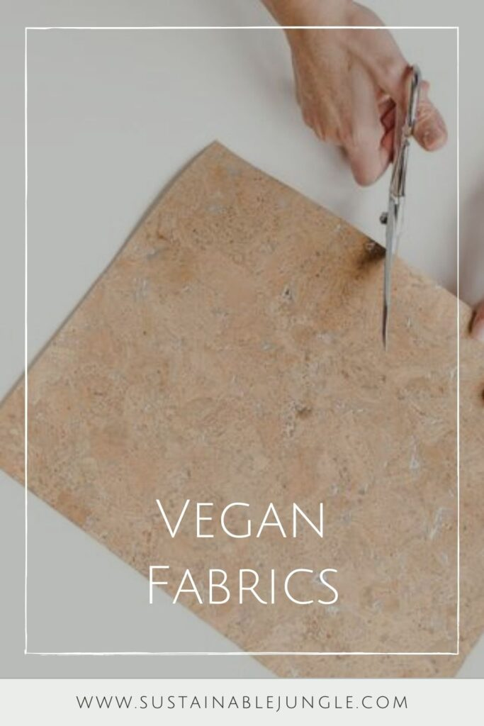 """Without rounding up any animals, we've rounded up a list of some of the most common vegan fabrics and done our best to answer the question """"Which vegan fabrics are eco friendly?"""" Image by Carry Courage #veganfabrics #sustainablejungle"""