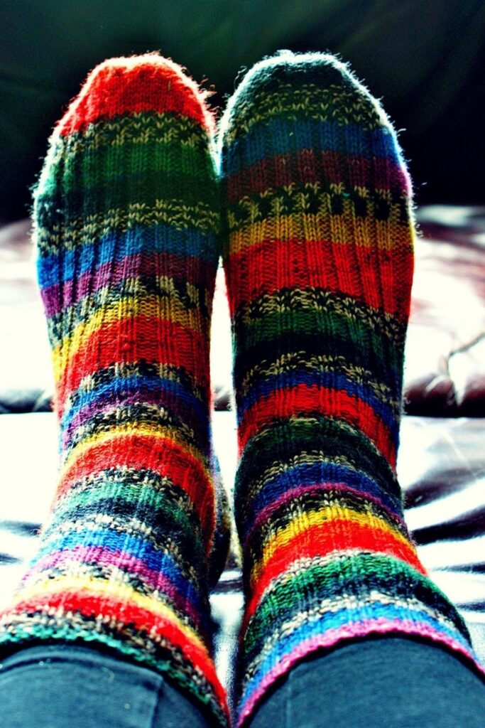 What to do with old socks should be as breezy as the holes in the heels… right? Image by Pixabay #whattodowitholdsocks #whattodowitholdmismatchedsocks #whattodowitholdwoolsocks #whattodowitholdsockswithholes #sustainablejungle