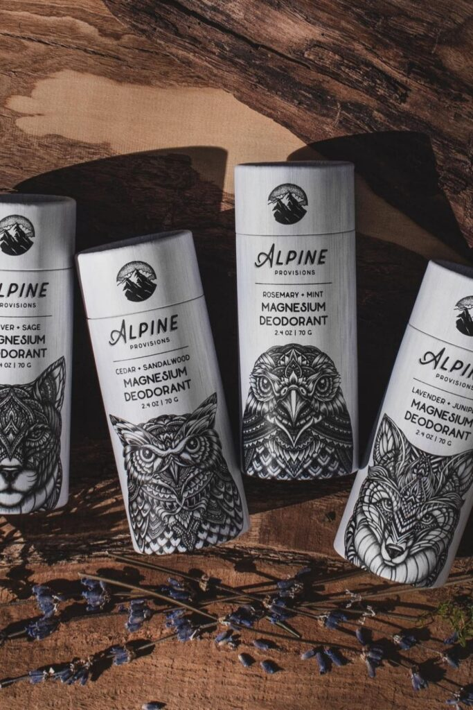 Want cruelty free deodorant that's good for you, better for our planet, and better for all beings on Earth? No sweat! Image by Alpine Provisions #crueltyfreedeodorant #sustainablejungle