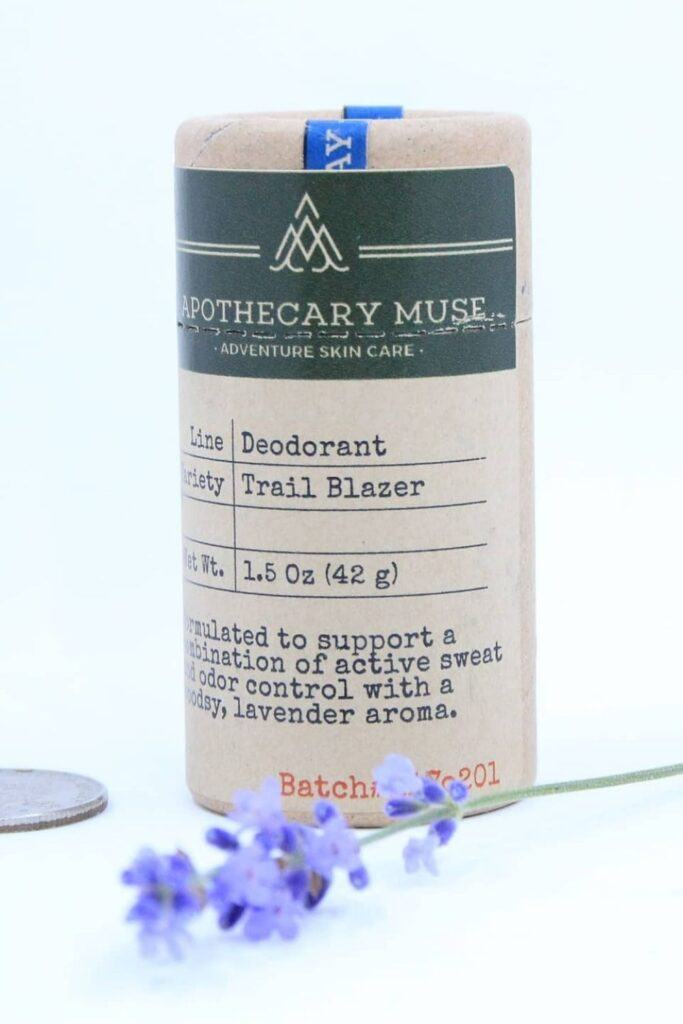 Want cruelty free deodorant that's good for you, better for our planet, and better for all beings on Earth? No sweat! Image by Apothecary Muse #crueltyfreedeodorant #sustainablejungle