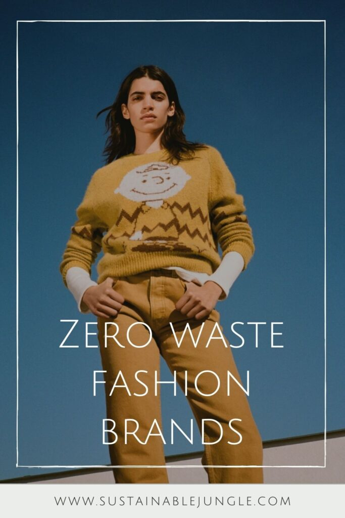 Fortunately, there are some good kids in the zero waste fashion world: Brands that are changing how we view fashion and using circular practices to keep valuable materials in use much, much longer Image by RE/DONE #zerowastefashion #sustainablejungle