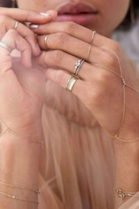Fair trade and artisan jewelry is everything that mass produced jewelry isn't. Traditional techniques, local materials, and unique designs that tell a story... Image by Catbird #artisanjewelry #artisanjewelrydesigners #artisanjewelryonline #artisanjewelrywebsites #fairtradejewelry #fairtradejewelrybrands #fairtradejewelryonline #fairtradejewelrycompanies #sustainablejungle