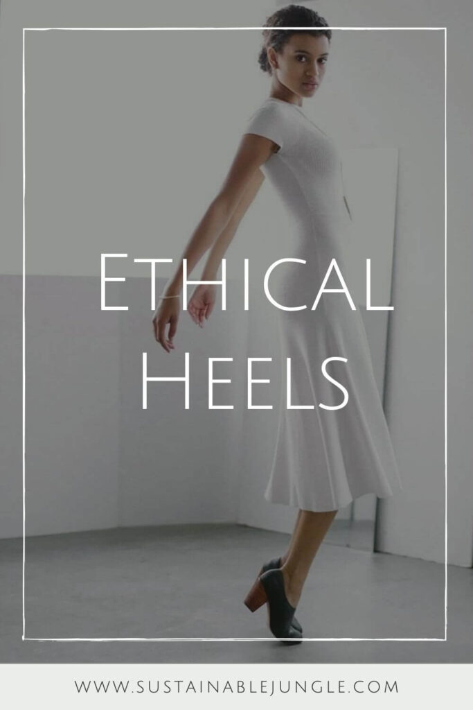 We should be keeping our heels, heads, and standards high. Which is why dressing up with ethical heels is much more glamorous! Image by Nisolo #ethicalheels #sustainablejungle