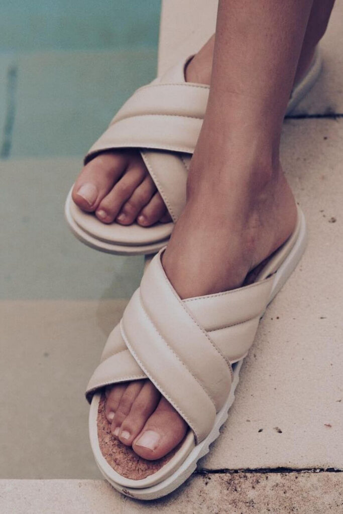 For summer sandals that also have a barely-there impact on animals and the planet, we've rounded up a list of some of our favorite vegan sandals. Image by Bhava #veganshoes #sustainablejungle