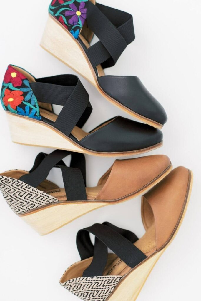 We should be keeping our heels, heads, and standards high. Which is why dressing up with ethical heels is much more glamorous! Image by The Root Collective #ethicalheels #sustainablejungle