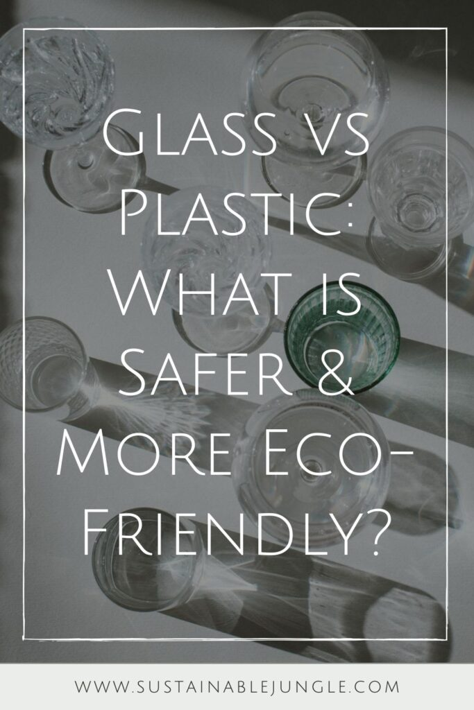 It's the glass vs plastic showdown! These materials have become essential in any household, but which one is better for us? For other people? For our planet? Photo by Vladimir Gladkov on Unsplash #glassvsplastic #sustainablejungle