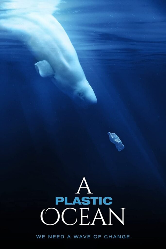 Grab some (plastic-free) snacks, dim the lights, and let a zero waste documentary change your life. Image by A Plastic Ocean #zerowastedocumentaries #sustainablejungle