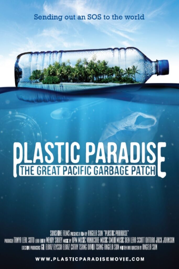 Grab some (plastic-free) snacks, dim the lights, and let a zero waste documentary change your life. Image by Plastic Paradise #zerowastedocumentaries #sustainablejungle