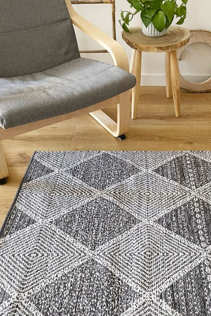 What's the common denominator of playing tag or twister around the coffee table? The trusty rug! But most conventional rugs leech chemicals so choosing non toxic and organic rugs is... Image by Fhygge #organicrugs #organiccottonrugs #organicwoolrugs #organicarearugs #organicnurseryrugs #nontoxicrugs #nontoxicarearugs #nontoxicnurseryrugs