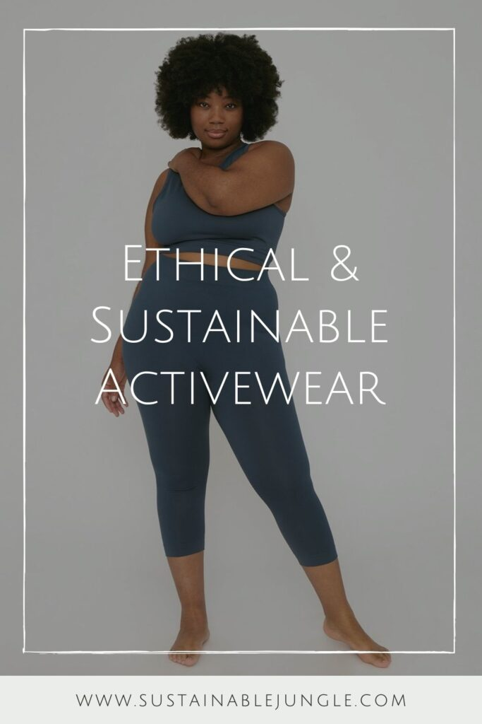 Are you ready to get sweaty and swol with this list of ethical and sustainable activewear?! You can achieve a 5K PR while also learning how to avoid fast fashion… Image by Organic Basics #sustainableactivewear #ethicalactivewear #sustainablejungle